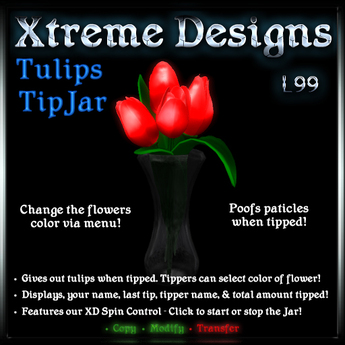 Xtreme Tulips TipJar