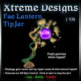 Fae Lantern Tipjar [ tink sprite fairy ]