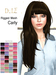 """=DeLa*= Mesh Hair """"Carly"""" Dipped Party Colors"""