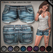 DN Mesh: Frayed Shorts - LightBlue