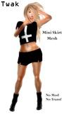 *Twak* Mini Skirt Rigged Mesh Black