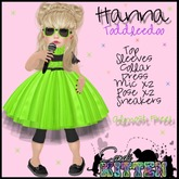 {C*K} Hanna in Lime Toddleedoo MP PROMO