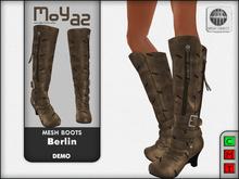Berlin Mesh Boots - DEMO