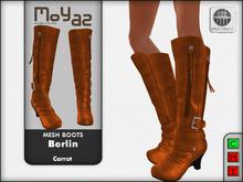 Berlin Mesh Boots - Carrot