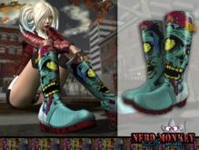 .::[NerdMonkey] - [Galoshes Boots Zombie]::.