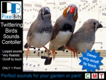 Bird sounds player (owner-only touch on/off) - 1 Prim!