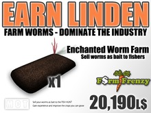 Enchanted Worms Farm - Earn Lindens farming for worms