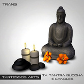 ::TA Tantra Buddha and Candles