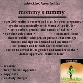 Mommy's Tummy