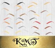 .:::K,M,T:::.AddOnz EyeBrow Templates Vol,2 Full Perm