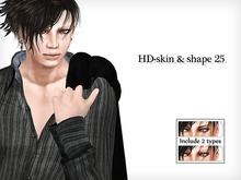 HOT DIVE-skin & shape 25 all