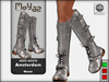 Amsterdam Mesh Boots - Mouse