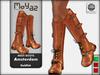Amsterdam Mesh Boots - Goldfish