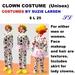 OnP Clown Costume (men or women)