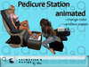 Salon - Pedicure Station - animated  --- copy / modify
