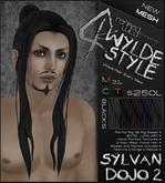 -Sylvan Dojo 2- BLACKS - A MESH Wylde Style by Khyle Sion