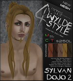 -Sylvan Dojo 2- BROWNS - A MESH Wylde Style by Khyle Sion