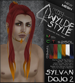 -Sylvan Dojo 2- TIPPED - A MESH Wylde Style by Khyle Sion