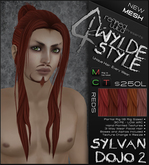 -Sylvan Dojo 2- REDS - A MESH Wylde Style by Khyle Sion