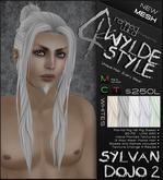 -Sylvan Dojo 2- WHITES - A MESH Wylde Style by Khyle Sion