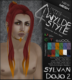 -Sylvan Dojo 2- COLORFULS- A MESH Wylde Style by Khyle Sion