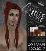 -Sylvan Dojo 2- NATURALS - A MESH Wylde Style by Khyle Sion