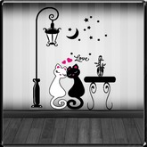*~LT~* Love Cats Wall Art Decal