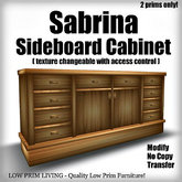 Sabrina Sideboard Cabinet  [texture changeable, dining room furntiure, dining set table]