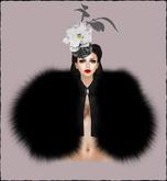 Boudoir -Black Fox Fur Coat