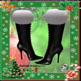 ~<Song>~ Freebie Red and Black Christmas Boots