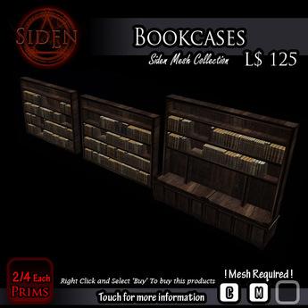 Bookcases / Bookshelves