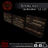 Bookcases / Bookshelves