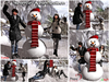 """""""Winterfun"""" Snowman with couple poses & animations (Boxed)"""