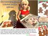 Aphrodite Kids Christmas Gingerbread cookies gift box