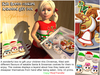 Aphrodite Kids Christmas Santa Cookies gift box