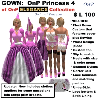 OnP Elegance Princess 4