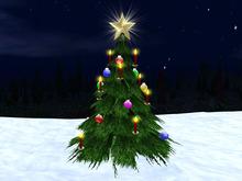 Christmas Tree Mesh 1