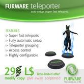 FURWARE teleporter - v4.0 Sonderangebot!