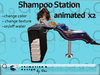 Salon - Shampoo Sink Station - animated x2 --- modify/transfer