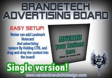 BrandeTech Advertising Board v.1.0 Single Version