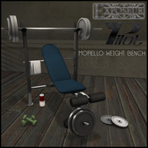 PILOT and Exposeur - Morello Weight Bench BOX