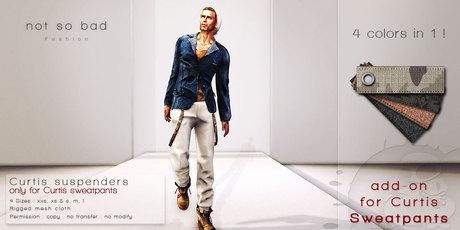 not so bad . CURTIS suspenders