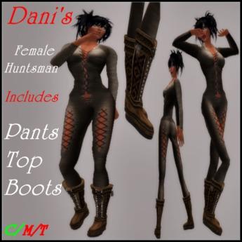 *Dani's* Female Huntsman W/Boots