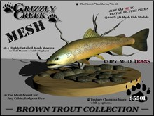 Grizzly Creek Brown Trout Collection