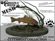 Grizzly Creek Yellowstone Cutthroat Collection