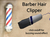 Salon - Barber Hair Clipper - buzzing sound --- modify/transfer (mesh)