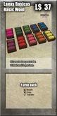 *Caja* - Lanas basicas / Basic wool [G&S]