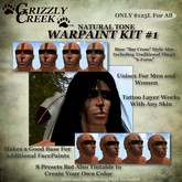 Grizzly Creek WarPaint Collection 1