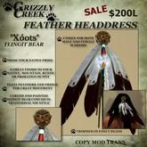 Grizzly Creek Headdress 1 Tlingit Bear