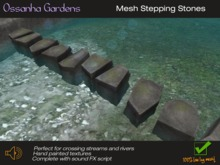 Mesh Stepping Stones Mod/Copy